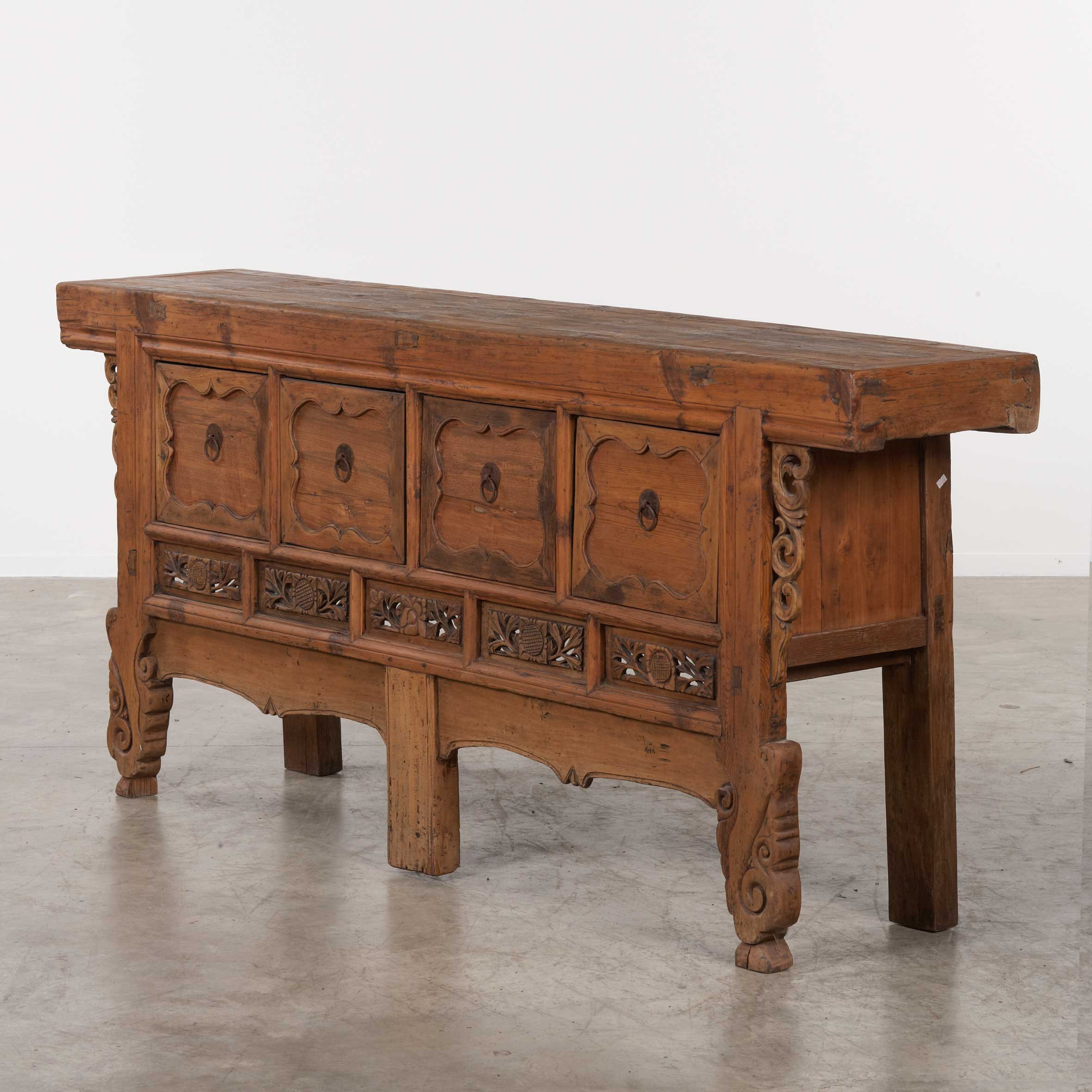 Chinese console table