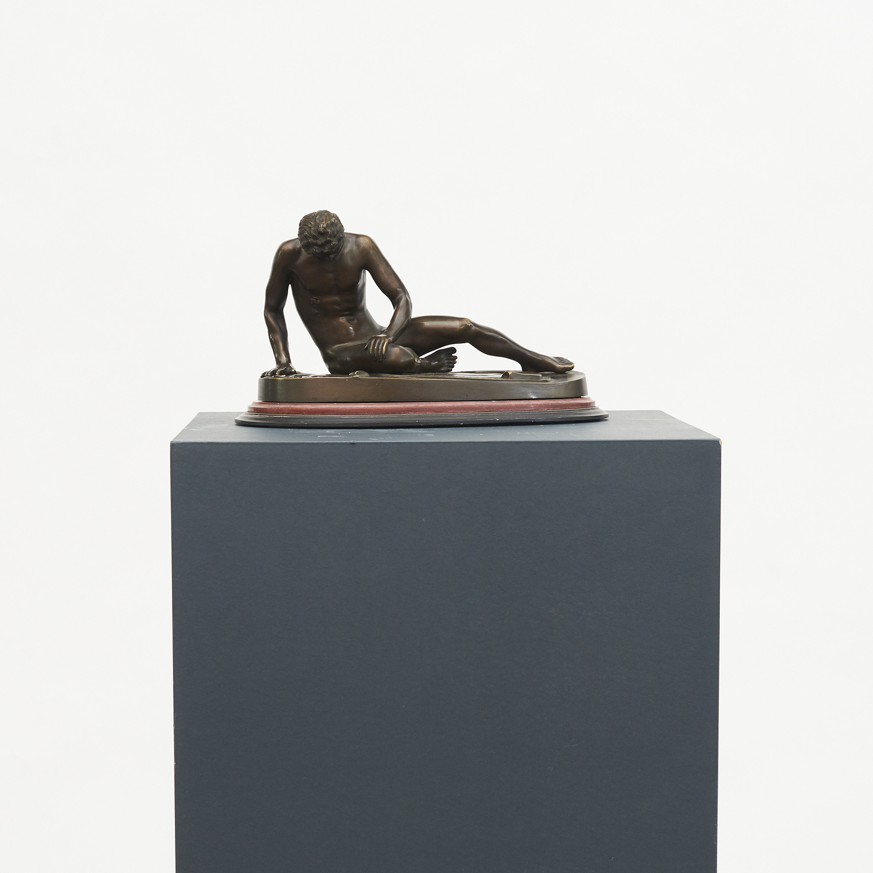 'Grand Tour' bronze skulptur