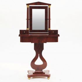Biedermeier dressing table, Sverige ca. 1820