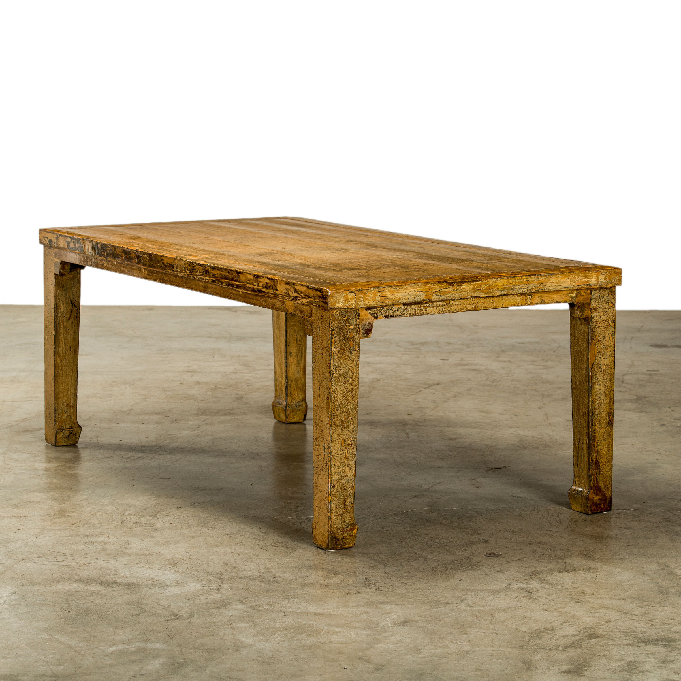 Dining table, thick original lacquer