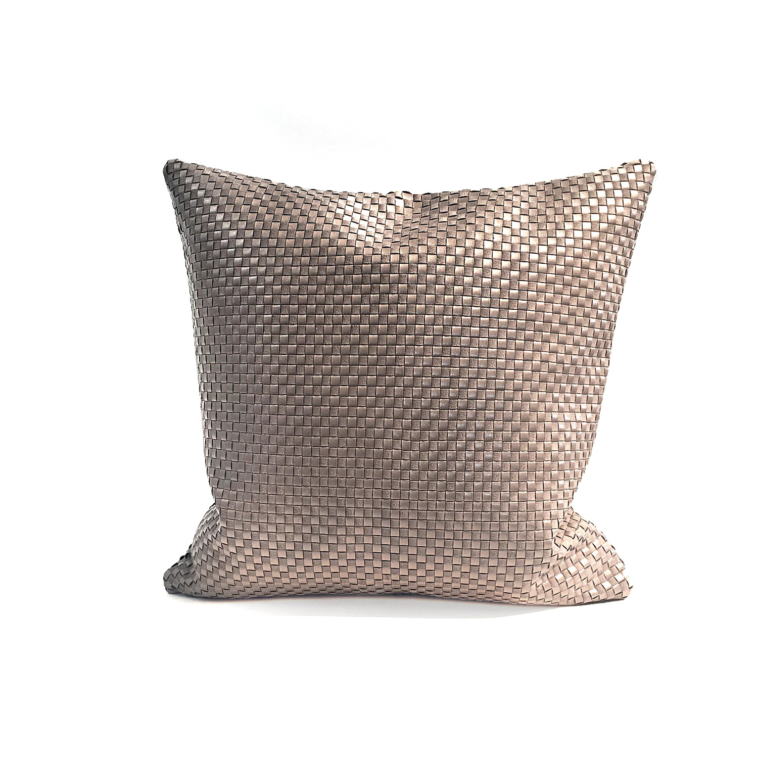 Cushion in woven textile