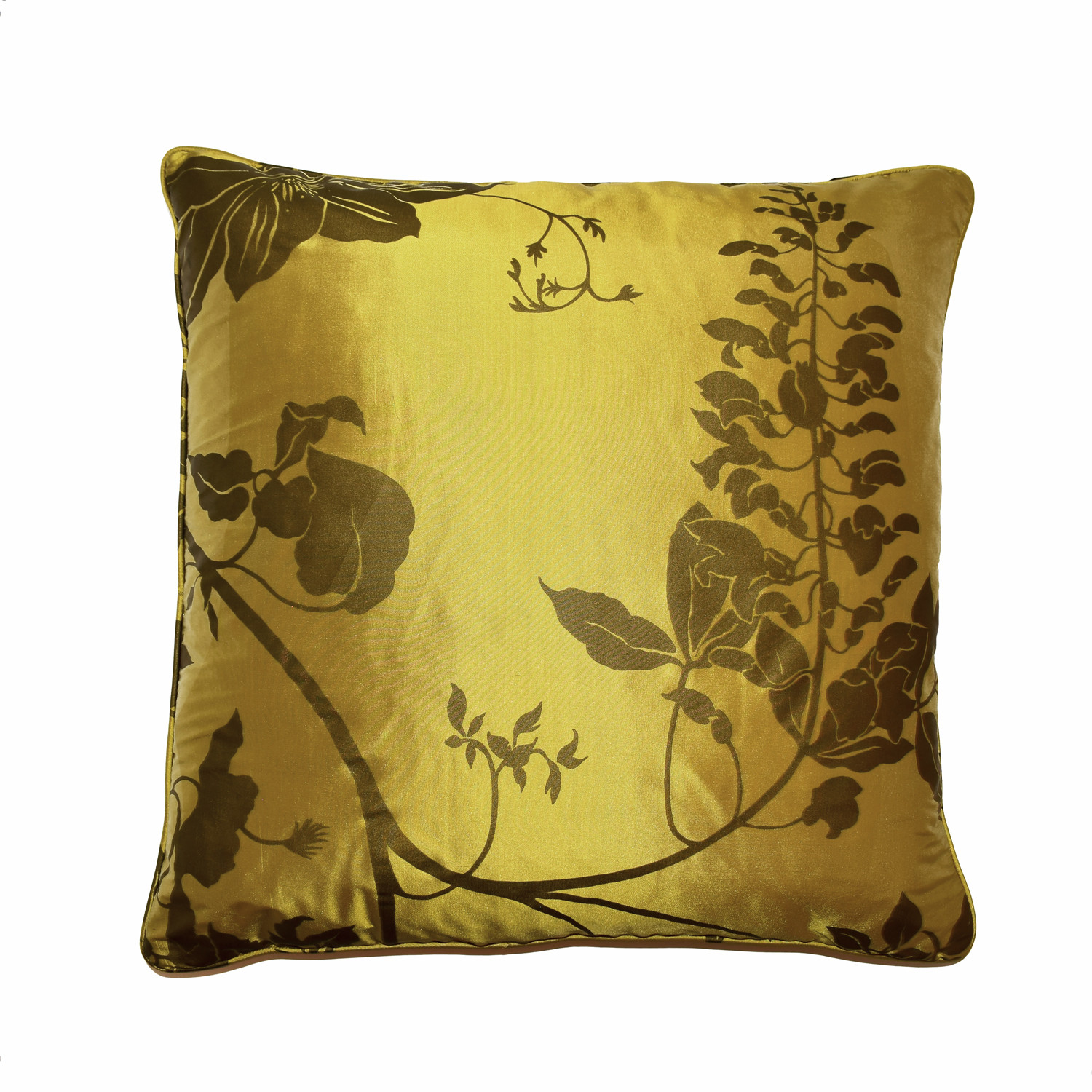 Cushion with floral pattern - 48x48 cm