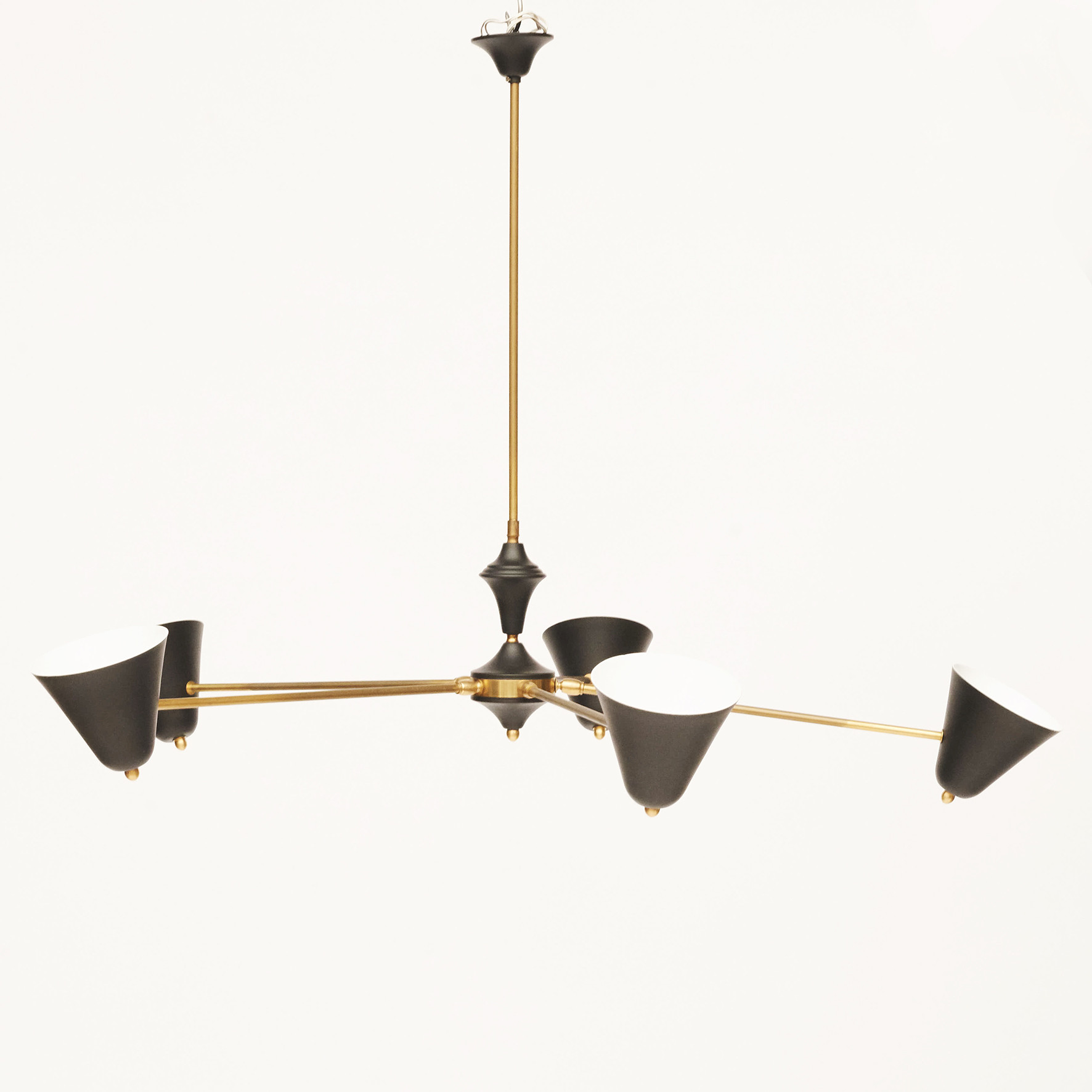 "Italian ""Stilnovo"" ceiling light"
