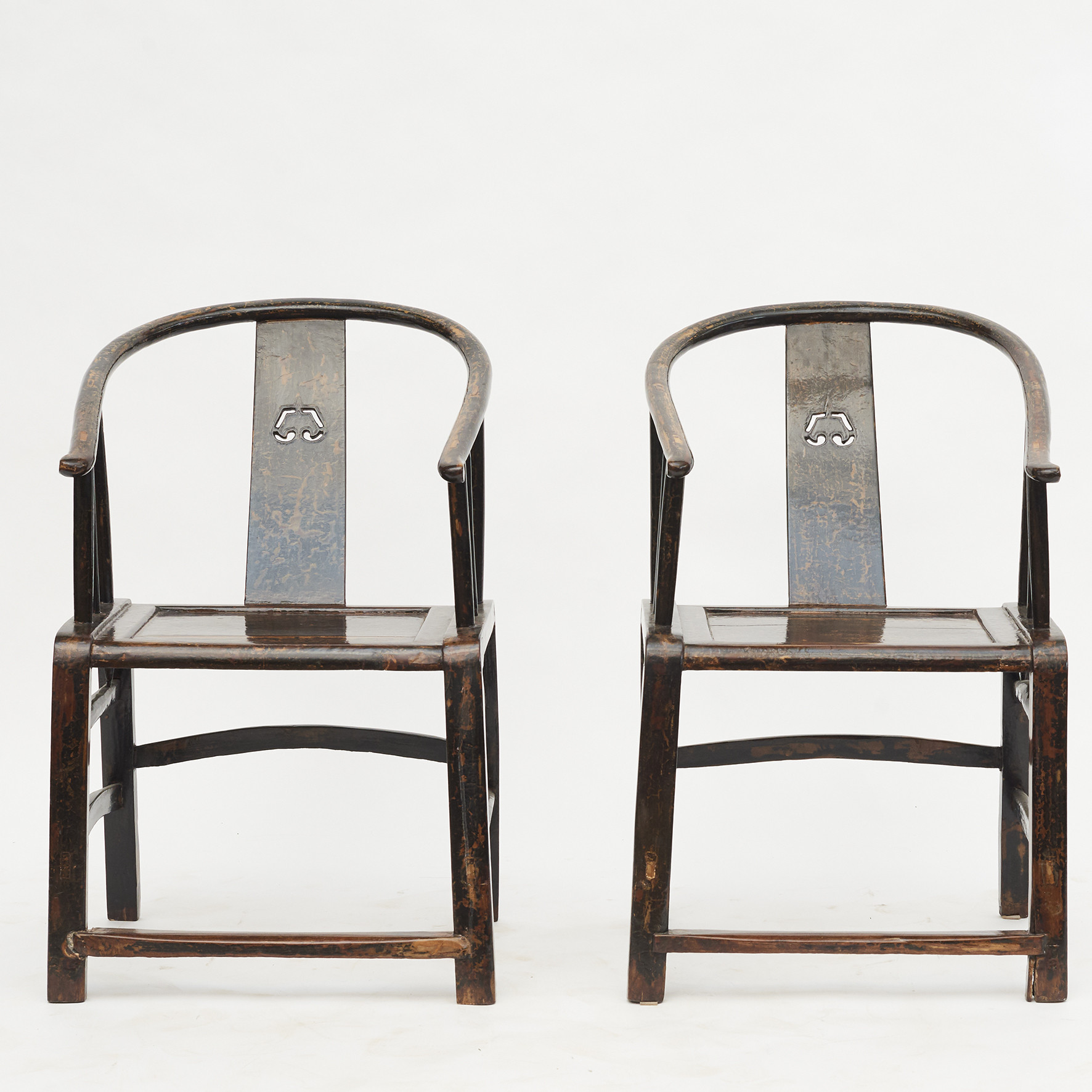 Pair of 'Lazy Chairs', early 19th Century