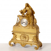 Louis Philippe-bronze clock