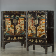 Pair of cabinets
