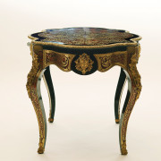 Napoleon III table in the manner of Boulle