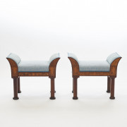 Pair of Empire Stools