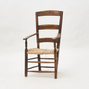 English Ladderback Armchair