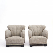 Pair of Danish Mid-century Club or Lounge Chair by Eilersen