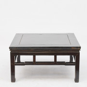 Ming style coffee table, original lacquer