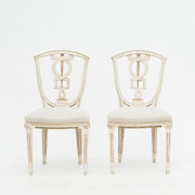 Pair of Danish Louis XVI Chairs, appx. 1790