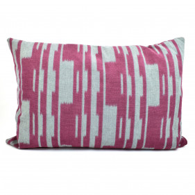 Cushion with fabric from Pierre Frey. 60x40 cm.