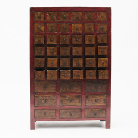 Chinese Apothecary Medicine Cabinet