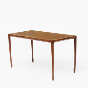 Coffee Table in Rosewood by Bernt Petersen, Denmark 1958