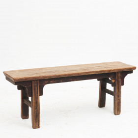 Chinese Qing Dynasty Bench in Original Condition