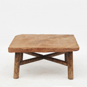 18th-century coffee table with stone table top