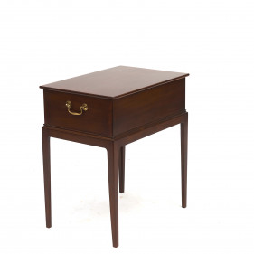Frits Henningsen Mahogany Sewing Table