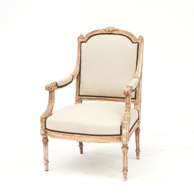 French Louis XVI Style Armchair