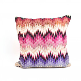 Cushion with fabric from Missoni Home