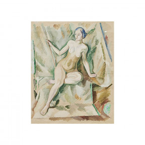 "William Sharff painting. ""Nude Woman"""