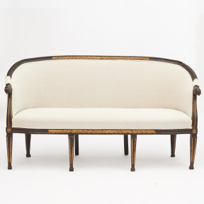 French Louis XVI Canapé Sofa