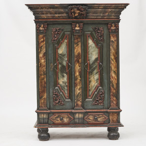Danish Baroque Cabinet