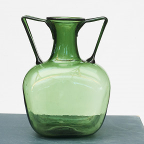 Hand-blown glass vase, ca. 1959