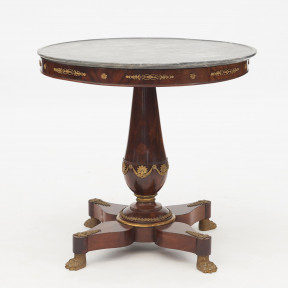 French Empire Salon Table