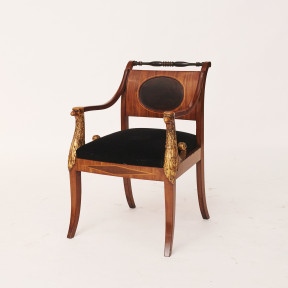 Empire Armchair, Copenhagen approx. 1810