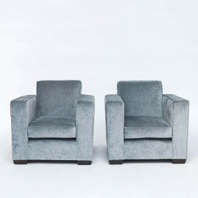 "Pair of French ""Art Deco"" armchairs"