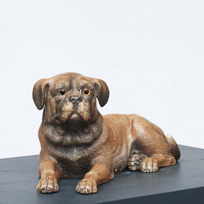 Dog made of terracotta