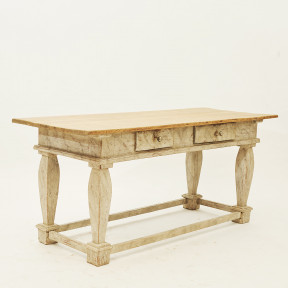 Swedish baroque table, late 1800th Century