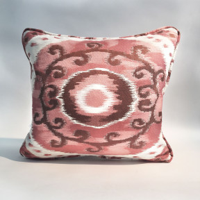Cushion with piping