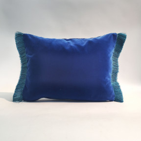 Cushion with fringe