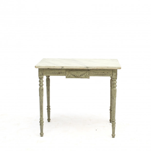 Gustavian Style Freestanding Side Table