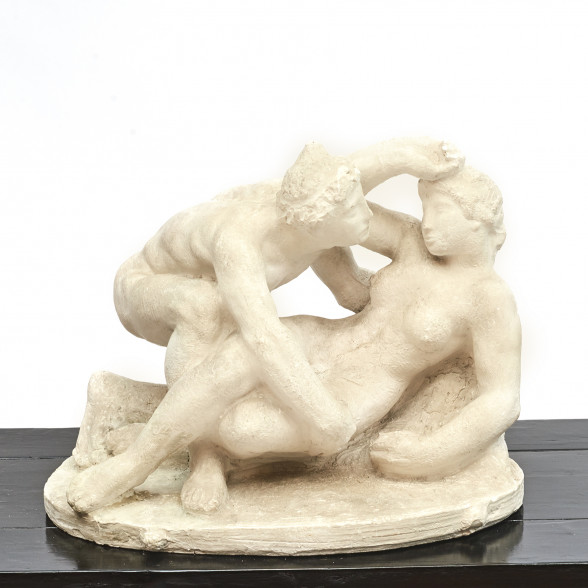 Gerhard Henning Sculpture with Erotic Theme